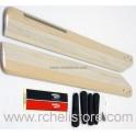 PV0118 Wood mainblades 600mm