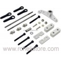 PV0349 Metal push/pull elevator lever set