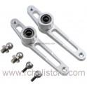 PV0442 Metal mixing lever set