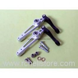 PV0807 Alu flybar control lever (silver)