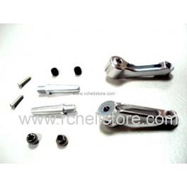 PV0838 Alu flybar control arm (silver)