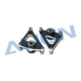 HN7034BA Metal aileron lever (Black)