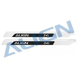 Carbon mainblades 600mm for flybarless  3G (H60196 Align)