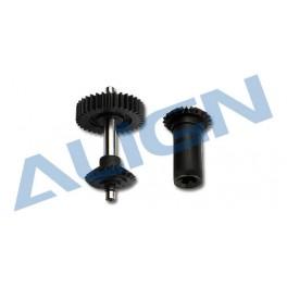 H60G002XXT M0.8 Torque Tube front drive gear set (34T)