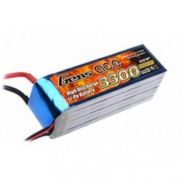Gens Ace 3300Mah 40/80C 6s