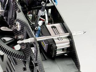New trex 600 PRO DFC servo mounting